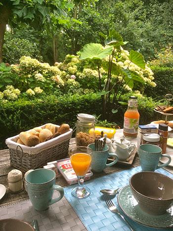 B & B ontbijt